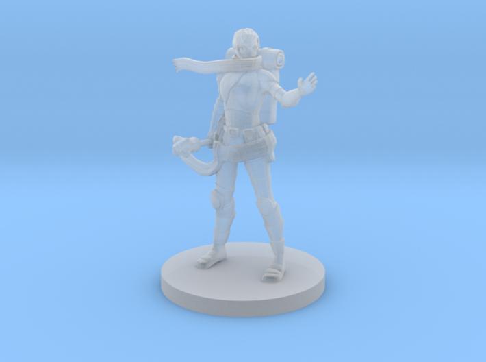 Warforged Female Cleric 3d printed