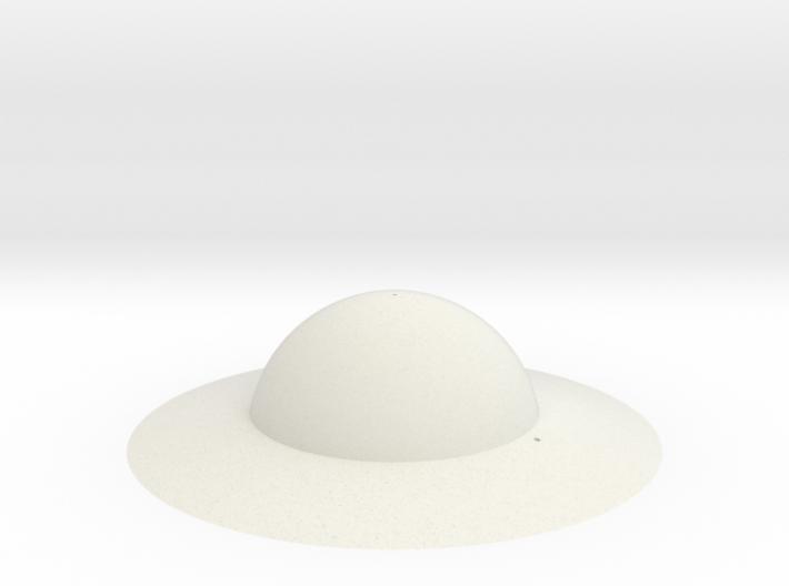 WW1 Doughboy Helmet 3d printed