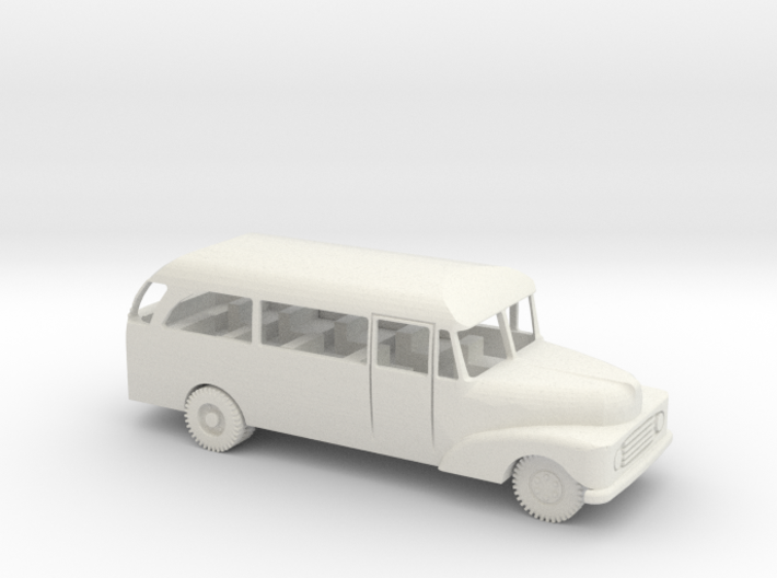 1/72 Scale Ford 1955 Bus 3d printed