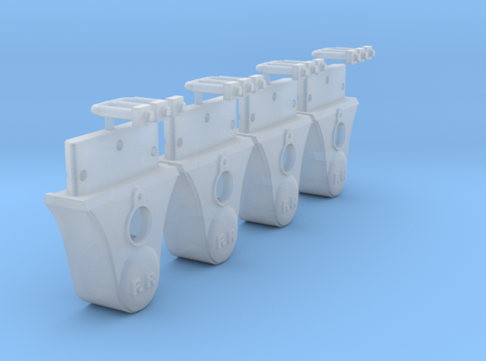AB01x FR Plain Axlebox without Grease Cover SM32 3d printed