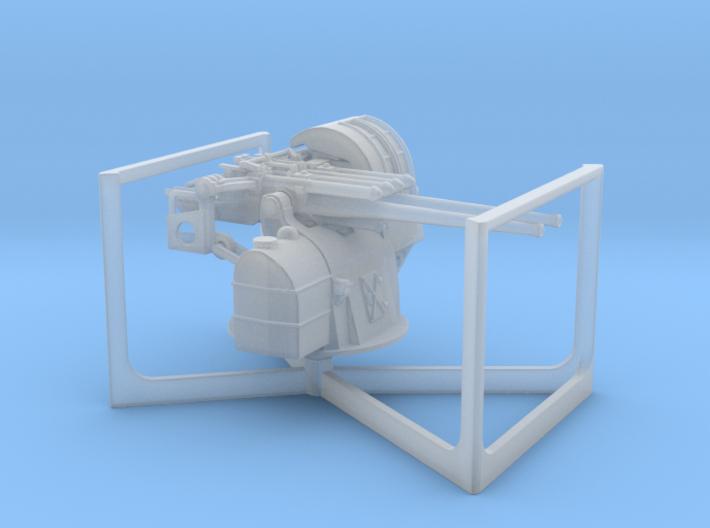 1:200 TYPE89 twin127mmAntiAircraftGun 3d printed