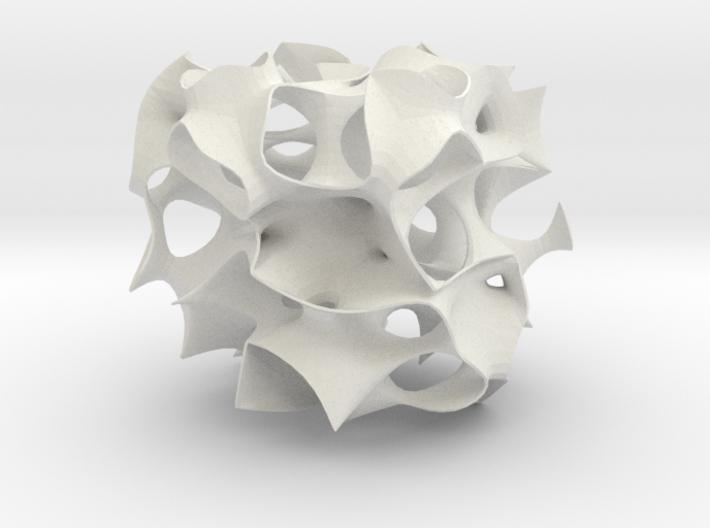 Skeletal mesh Sculpture 3d printed