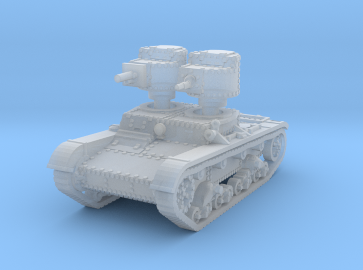 T 26 A 37mm Tank scale 1/160 3d printed