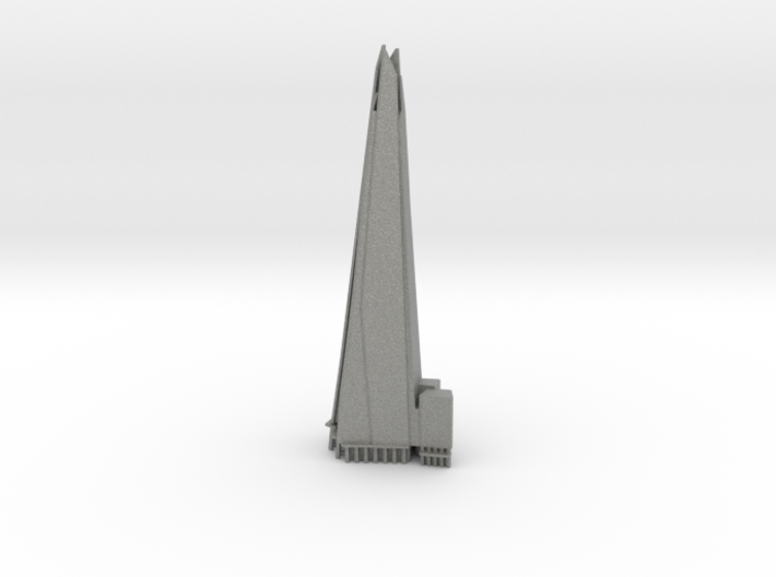 The Shard - London (6 inch) 3d printed