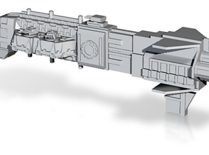 Adeptus Mechanicus Frigate Class - Concept A 3d printed