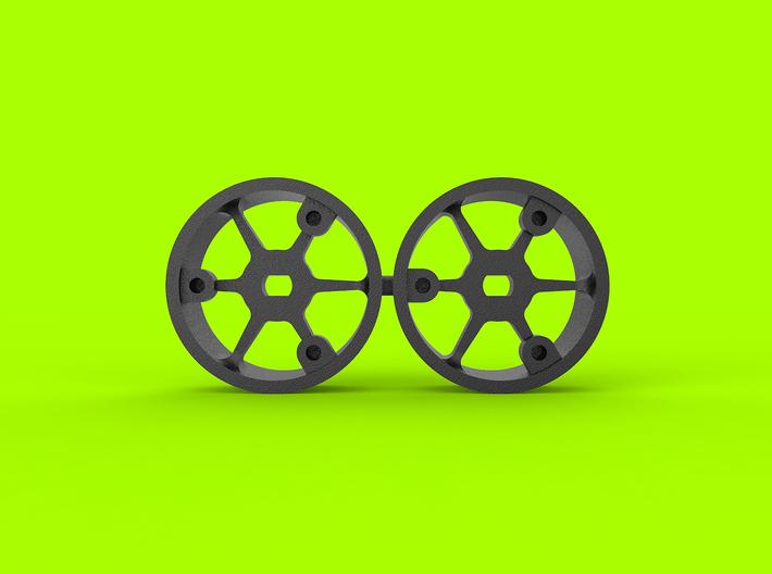 "4WD - ""No glue !"" - Ø19,5mm - 0 3d printed"