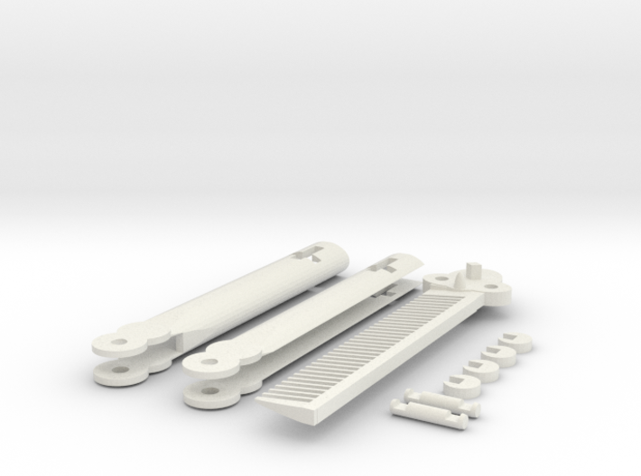 Butterfly Knife Comb 3d printed