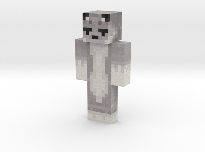 ThePixelWolv | Minecraft toy 3d printed