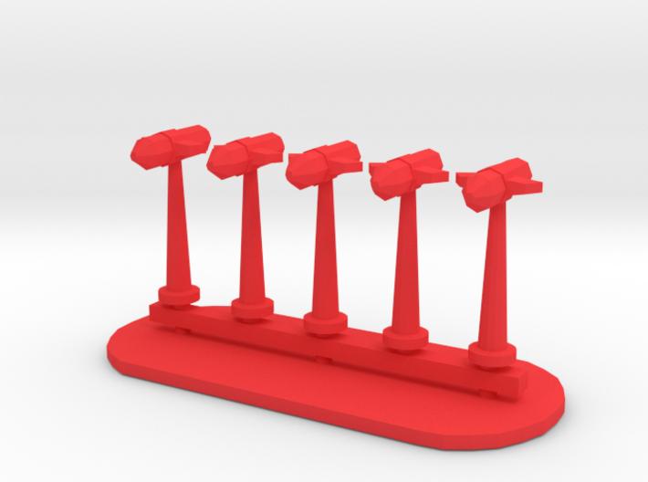 Rockets Sprue - Variant 6 3d printed