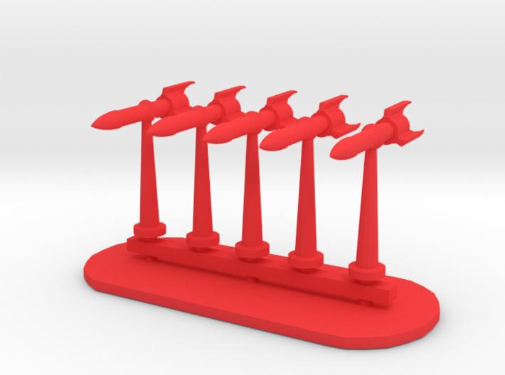 Rockets Sprue - Variant 2 3d printed