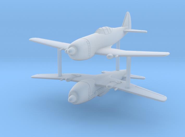 1/285 (6mm) Nakajima Ki-87 I 3d printed