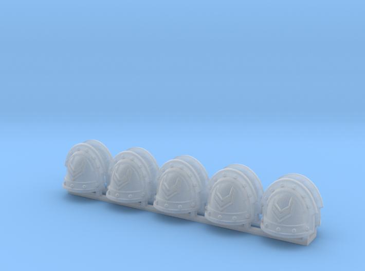 10 Sergeant Shoulder Pads 3d printed