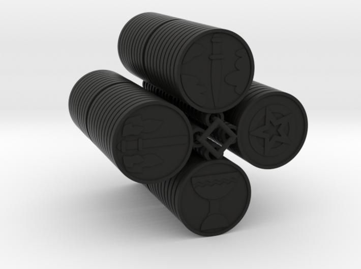 Pentacle Tarot 3d printed