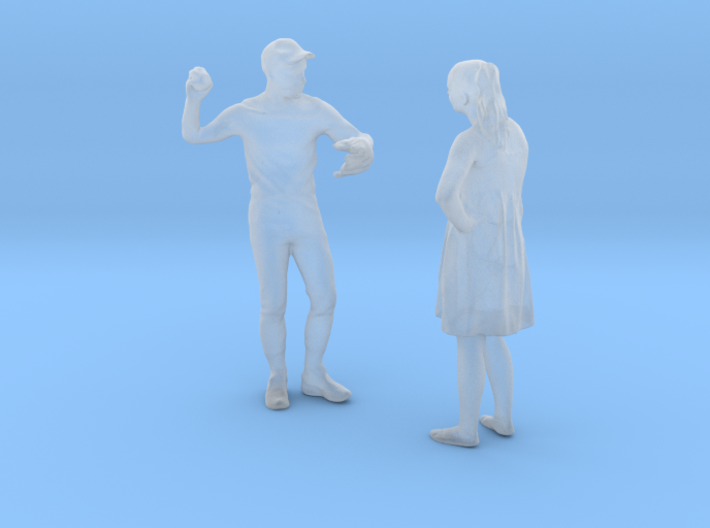 Printle C Couple 196 - 1/87 - wob 3d printed
