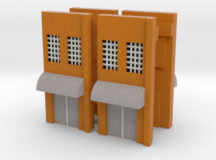 Factory Doors - Z scale 3d printed