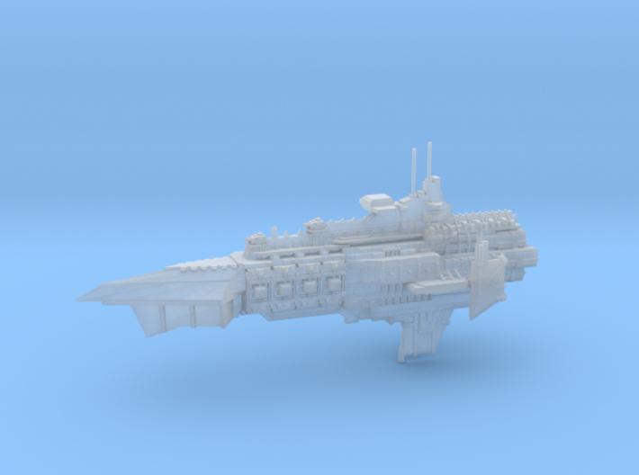 Capital Cruiser Ship - Concept A 3d printed