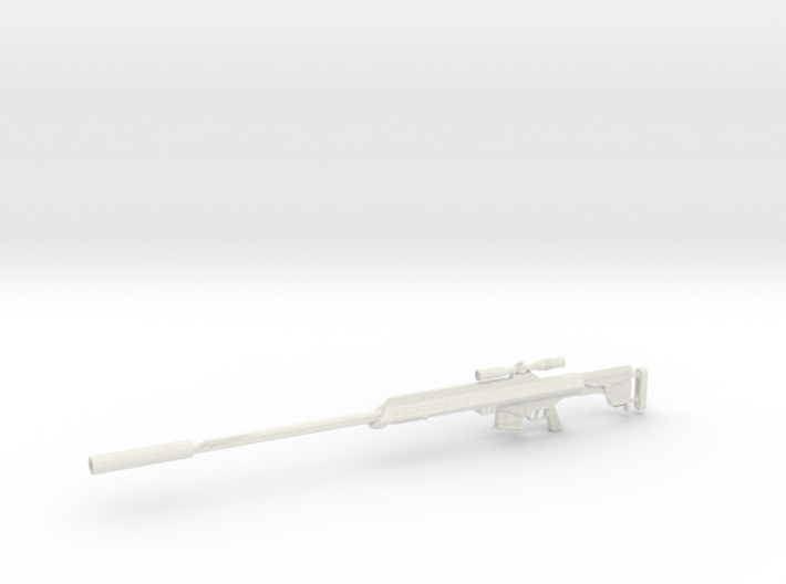 1:12 AS50 Sniper Rifle 3d printed