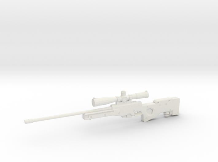 1:12 AWM Sniper Rifle 3d printed