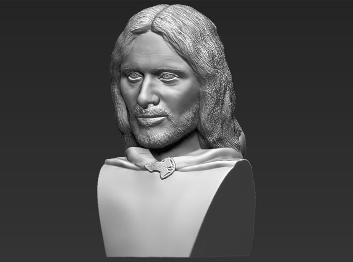 Aragorn from the Lord of the Rings bust 3d printed