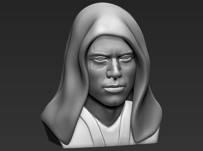 Anakin Skywalker bust from Star Wars 3d printed