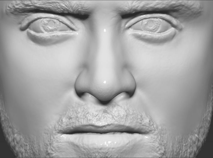 Jesse Pinkman from Breaking Bad bust 3d printed