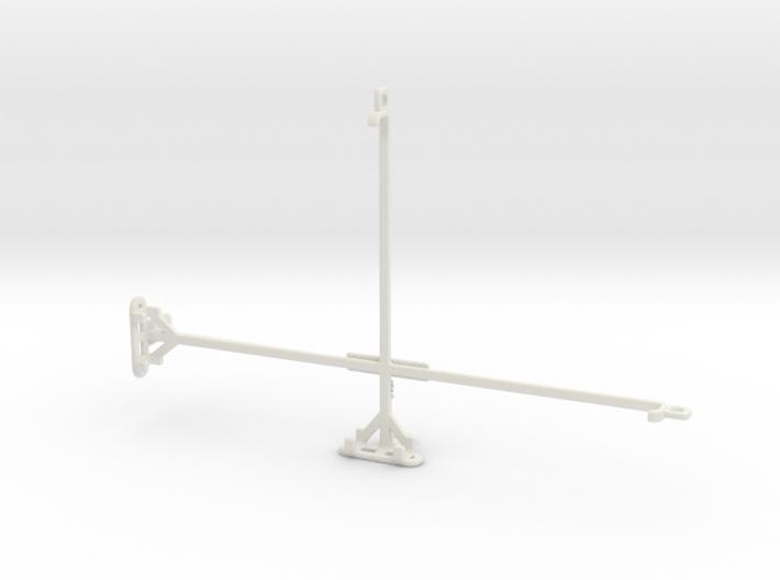 alcatel 3T 10 tripod & stabilizer mount 3d printed