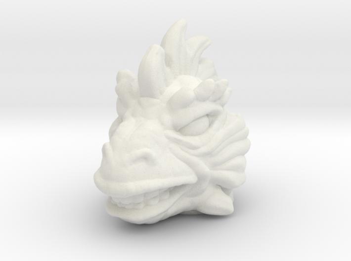 Iguana/Reptilian Head - Multisize 3d printed