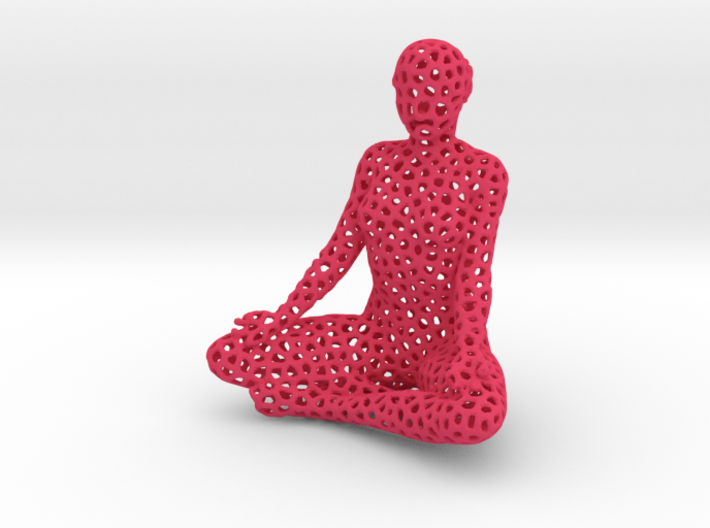 meditating_6_voro_simplified (1).stl (2) 3d printed