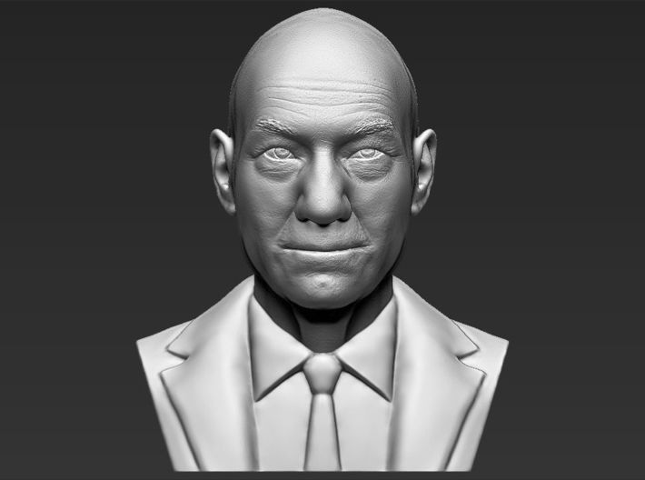 Professor X from X-Men bust 3d printed