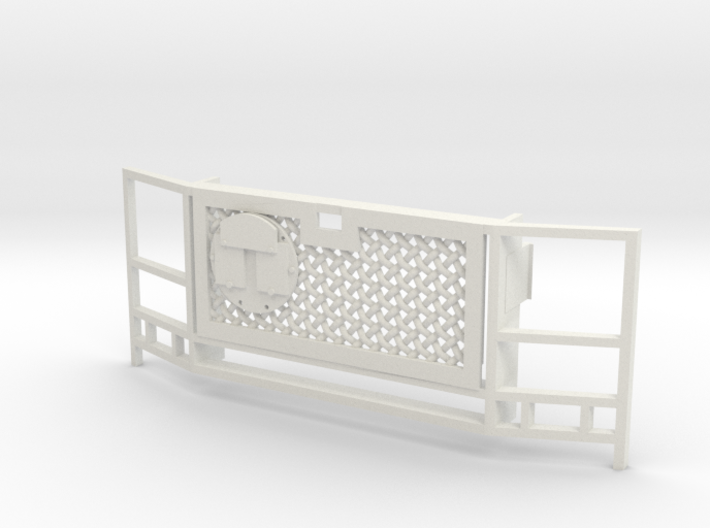 WPL Truck Front Grille A 3d printed