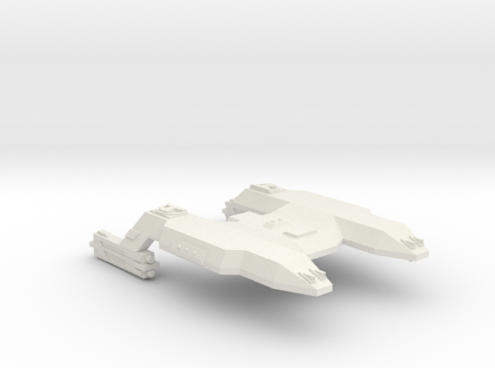 3788 Scale Lyran Java Tiger Heavy Command Cruiser 3d printed