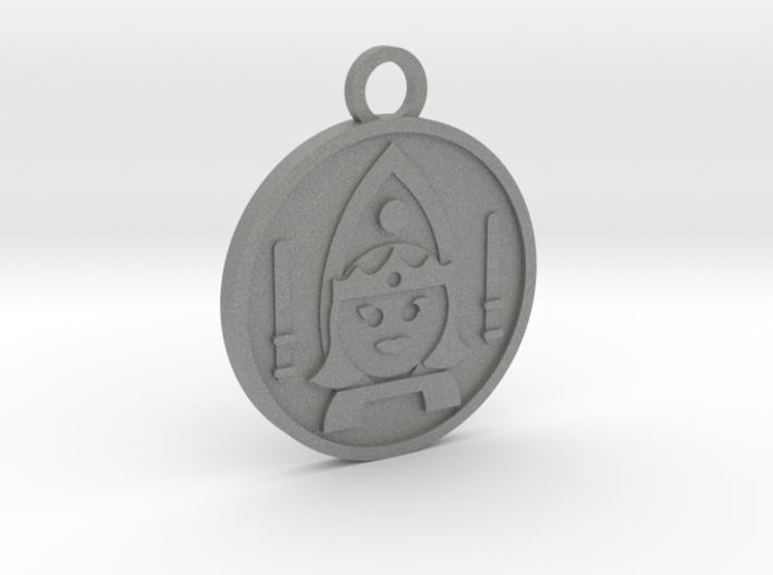 Queen of Wands 3d printed