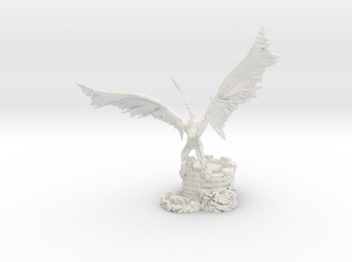 Undead Wyvern 3d printed