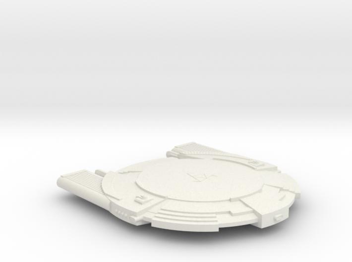 3125 Scale Andromedan Intruder Cruiser SRZ 3d printed
