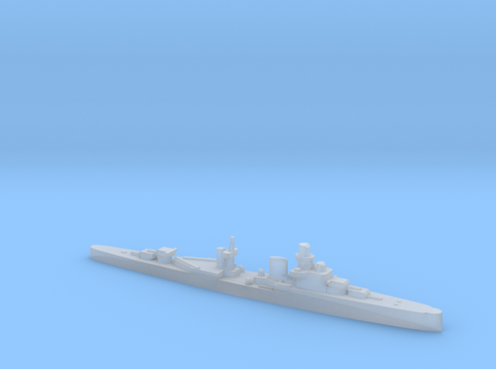 Luigi Cadorna light cruiser 1:1800 WW2 3d printed