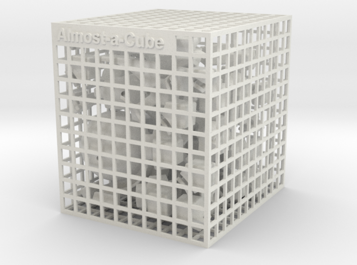 Almost-a-Cube 3d printed