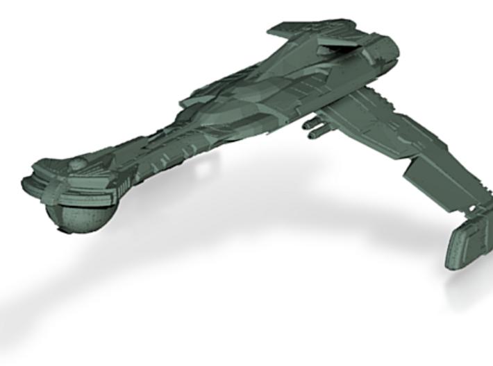 Klingon Wartar Class BattleDestoryer 3d printed