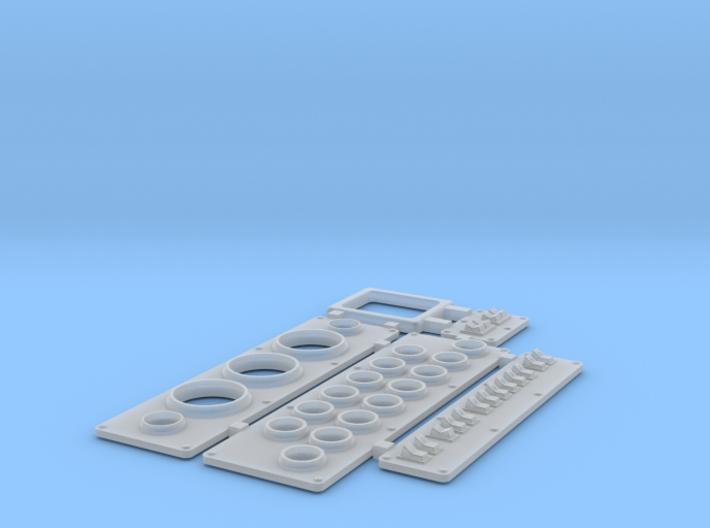 Instrument Panels Wellcraft SC38 V.2 3d printed