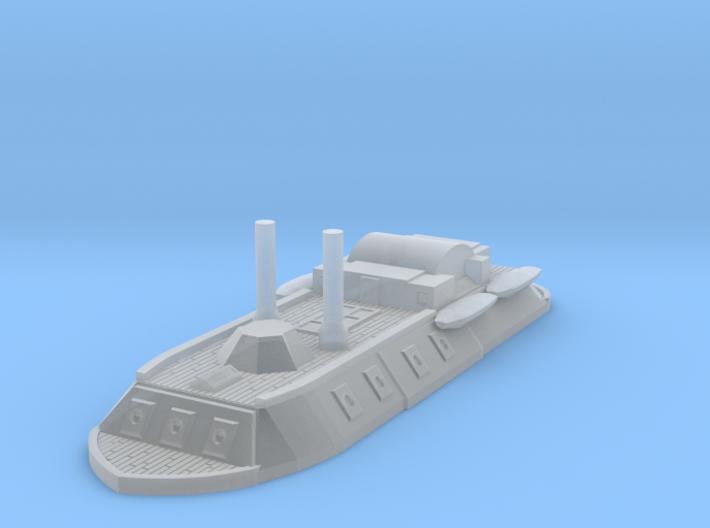 1/1200 City Class Gunboat 3d printed