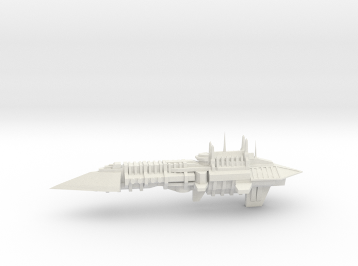 Chaos Renegade Escort Ship - 6 3d printed