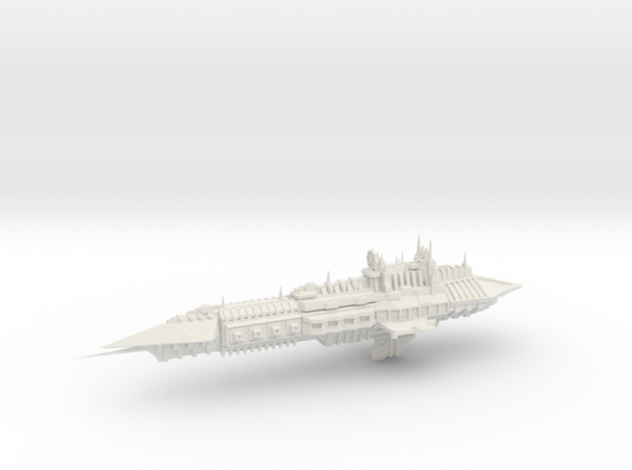 Chaos Heavy Frigate- Imperial Renegade - Concept 2 3d printed