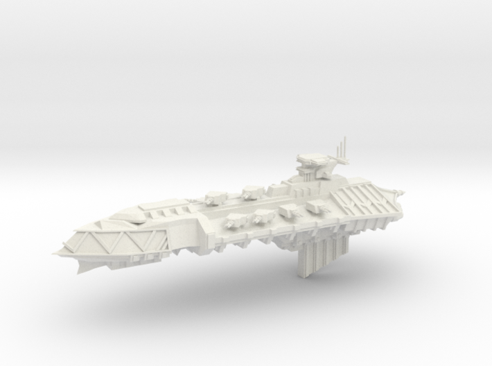 Chaos Cruiser Concept - F 3d printed