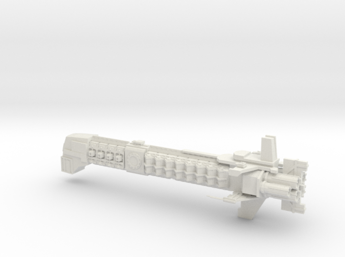 Adeptus Mechanicus Capital Ship - Concept B  3d printed