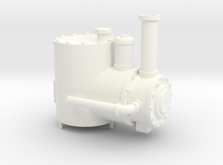 Kato Shay Boiler 3d printed
