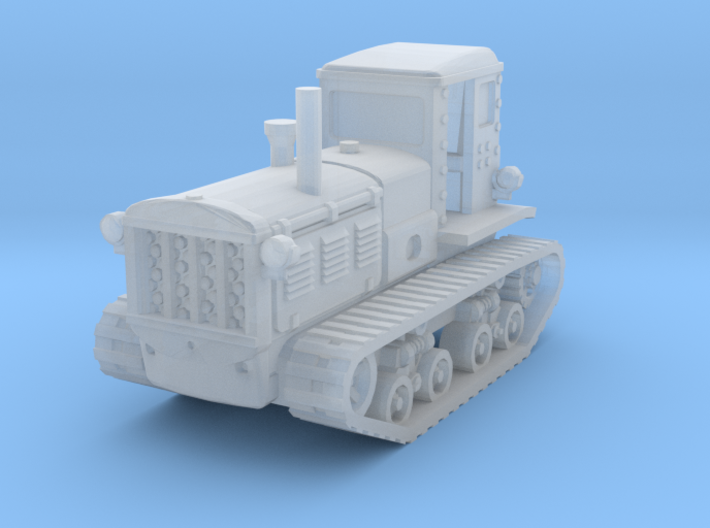STZ 3 Tractor 1/200 3d printed