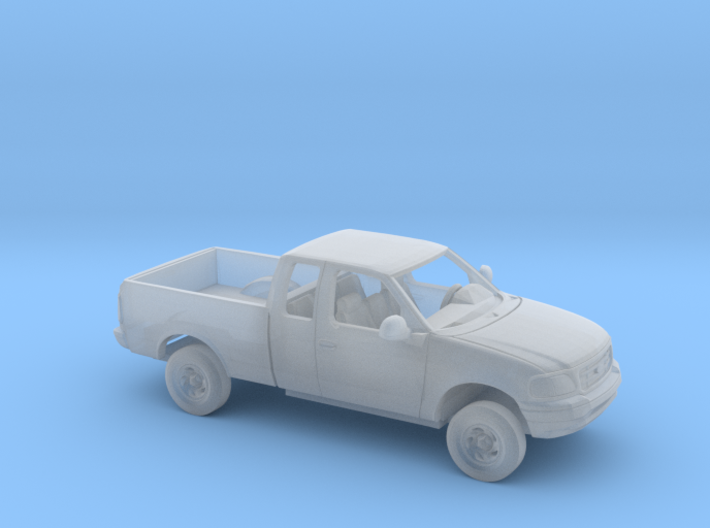 1/87 1997-2004 Ford F Series ExtCab RegBed Kit 3d printed