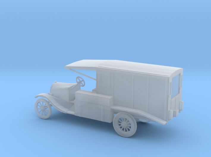 1/100 Scale Model T Ambulance 3d printed