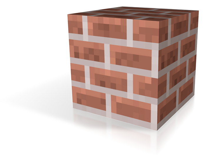 Brick Block 3d printed