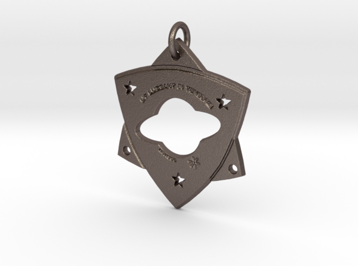 """TCR-""""Light in Darkness,"""" PENDANT 3d printed"""