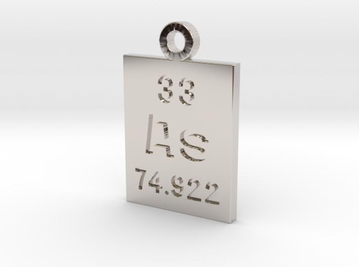 As Periodic Pendant 3d printed